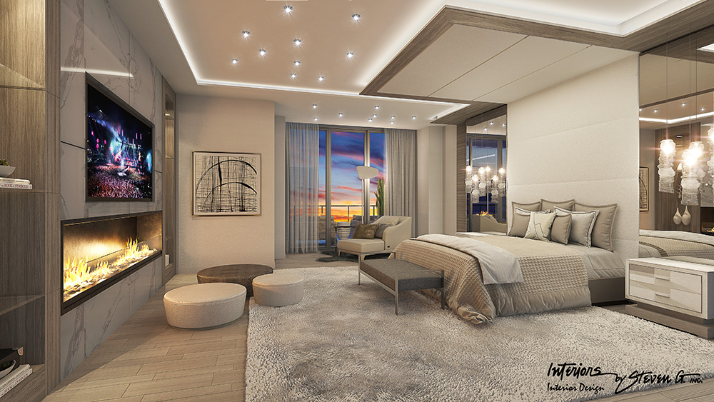 Sabbia beach s penthouse d listed at 6 2 million now for Steven g interior designs