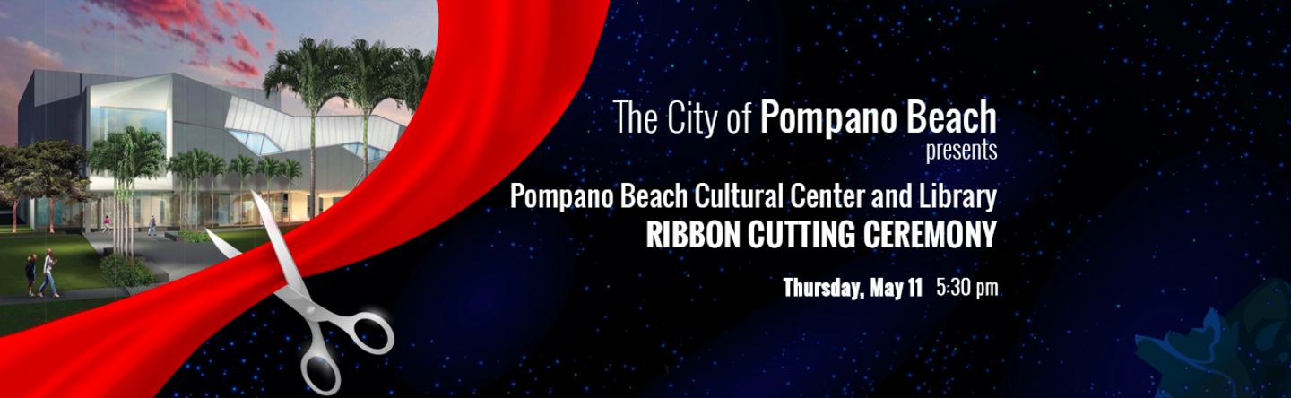 pompano beach ribbon cutting